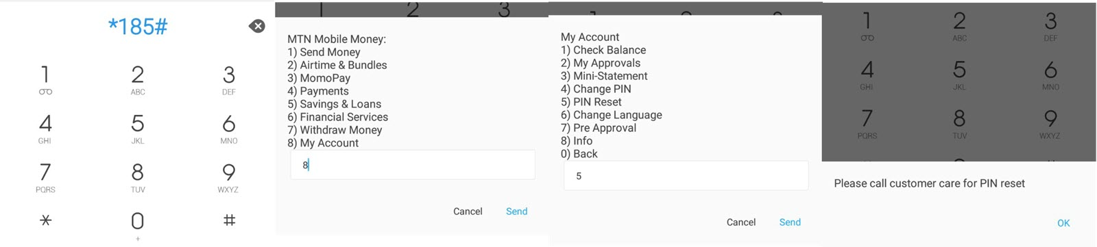 How to easily reset your forgotten Airtel money pin