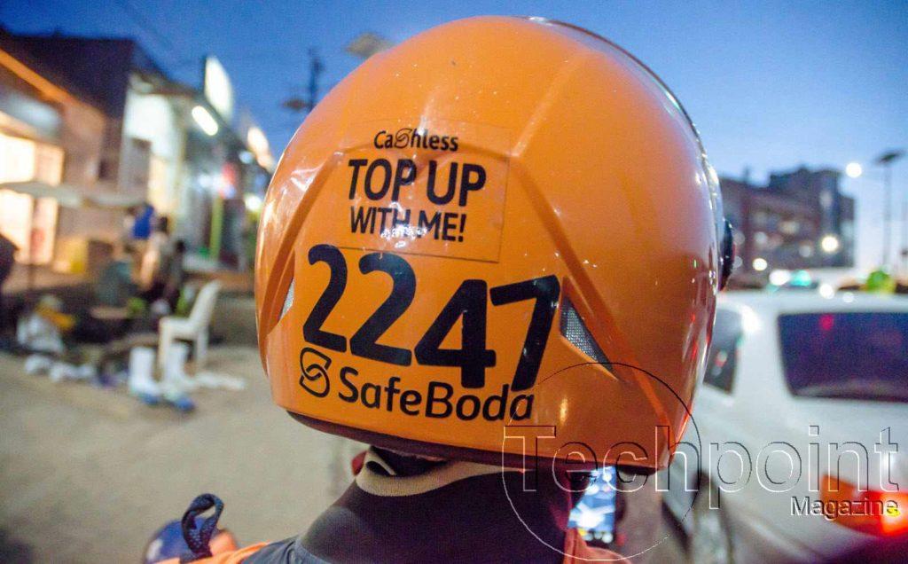 SafeBoda trip in Kampala