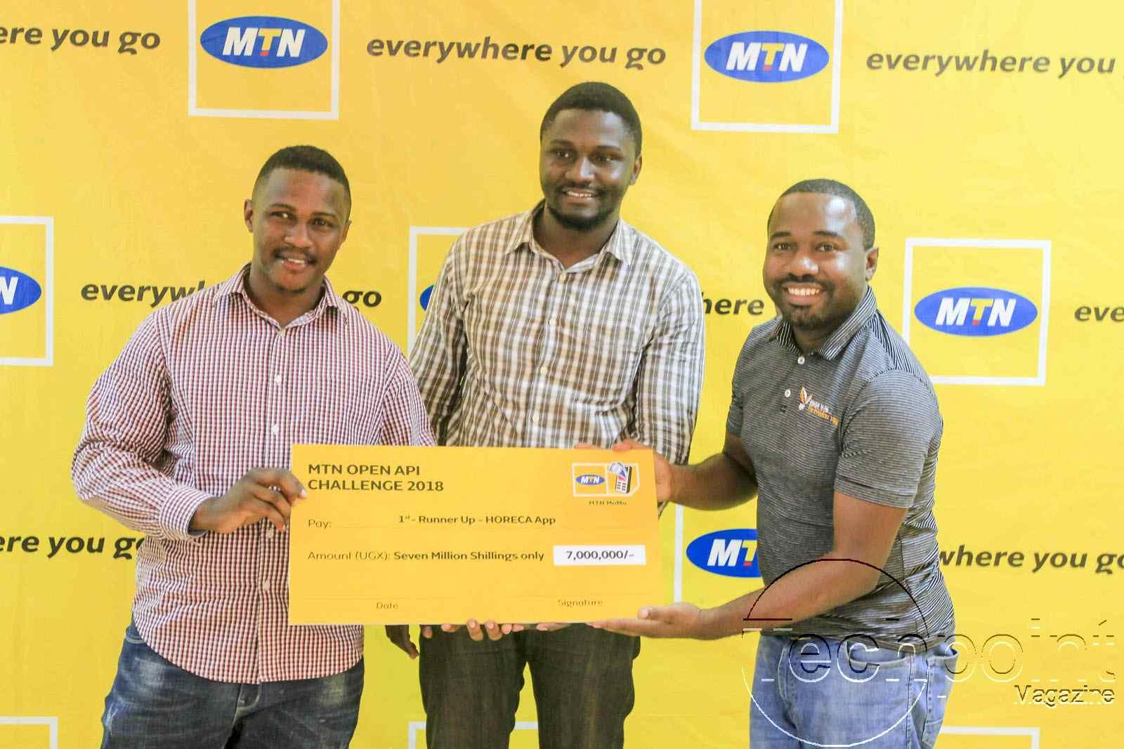 MTN OPEN API Challenge Winners via Innovation Challenge