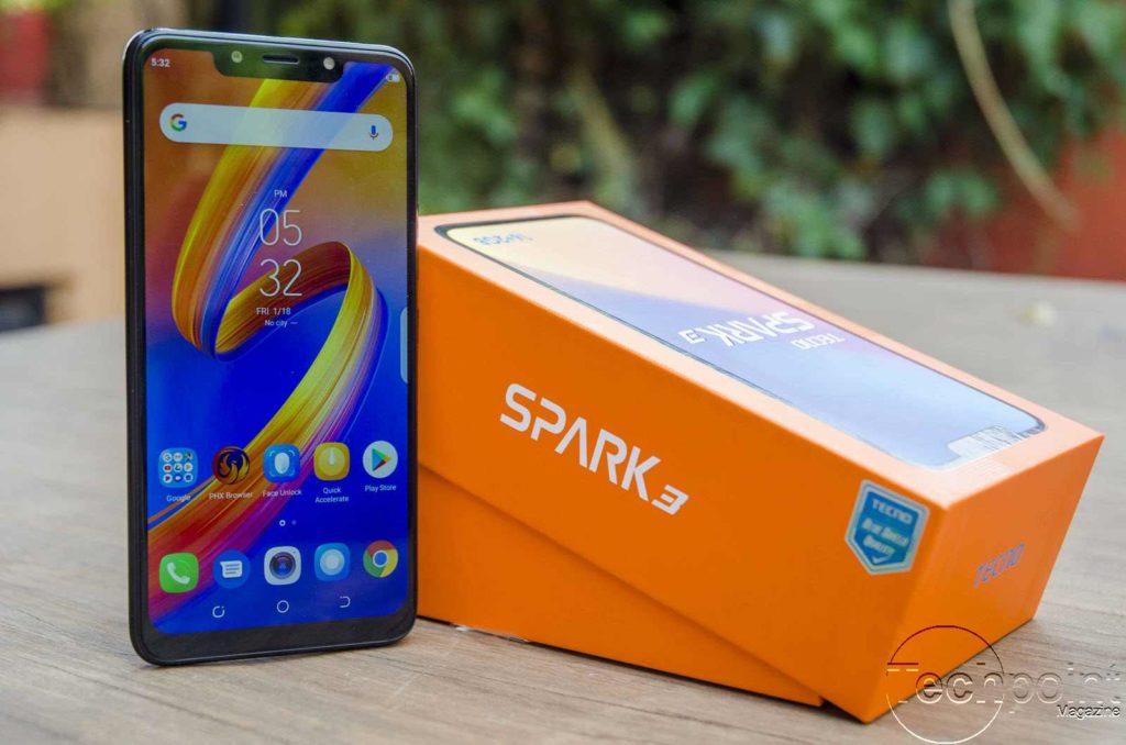 TECNO Spark 3 price in Uganda
