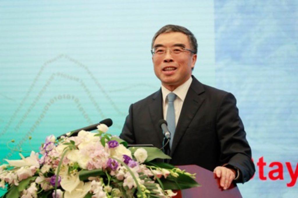 Huawei Mobile chairman Lian Hua