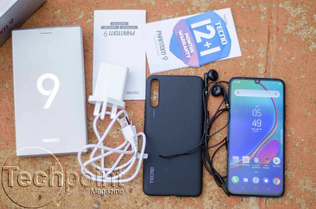 TECNO Phantom 9 unboxed