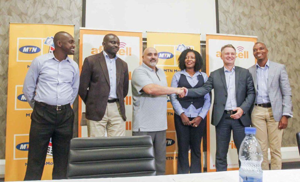 africell uganda mtn partnership