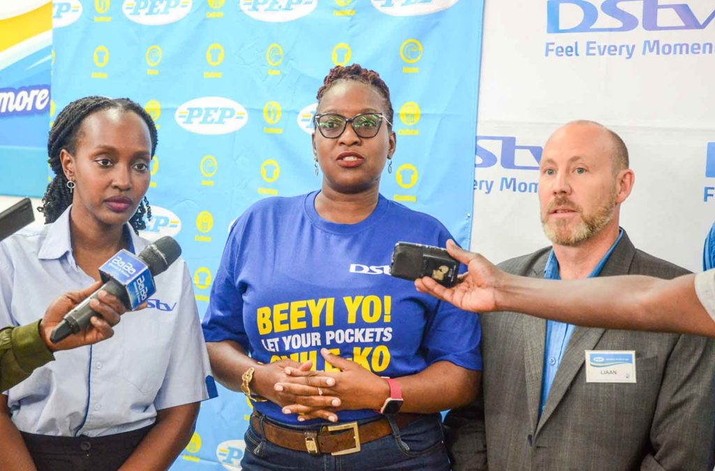 new dstv pep partnership