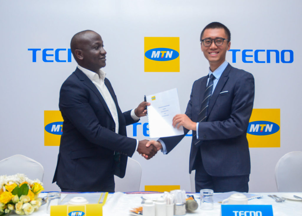 TECNO Mobile MTN Partnership