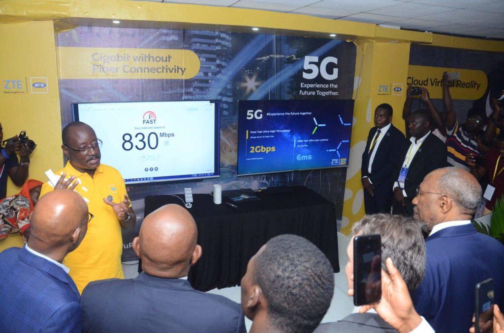 mtn uganda 5g launch