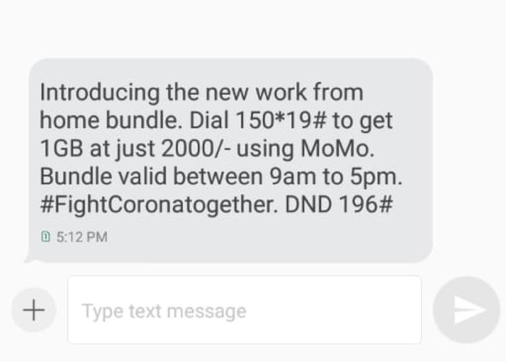mtn home bundles corona virus offer