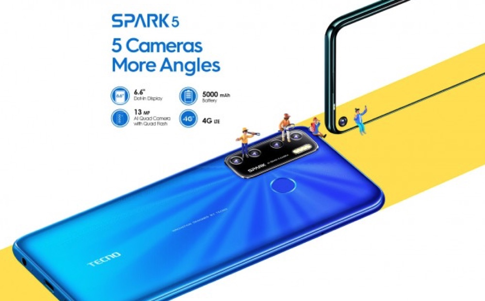 TECNO Spark 5 Smartphone Specifications