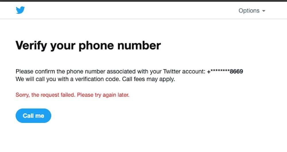 Twitter locked account phone verification