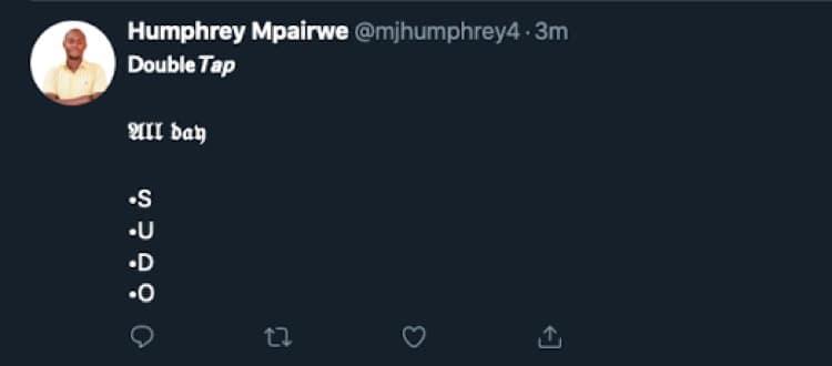 A Styled Tweet