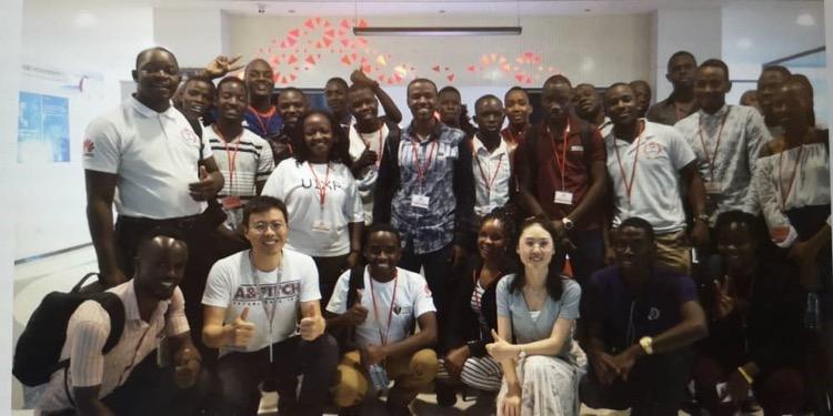 Huawei ICT Academy Students in Uganda