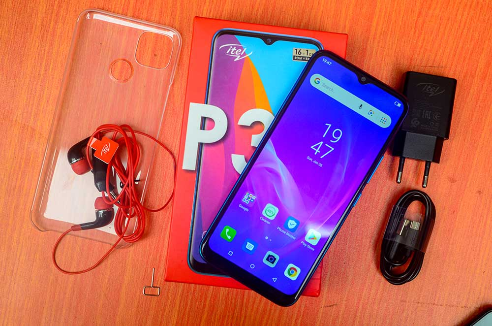 Itel P36 Unboxing and Specifications