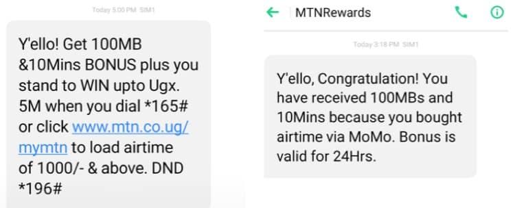 How to get free data on MTN Uganda