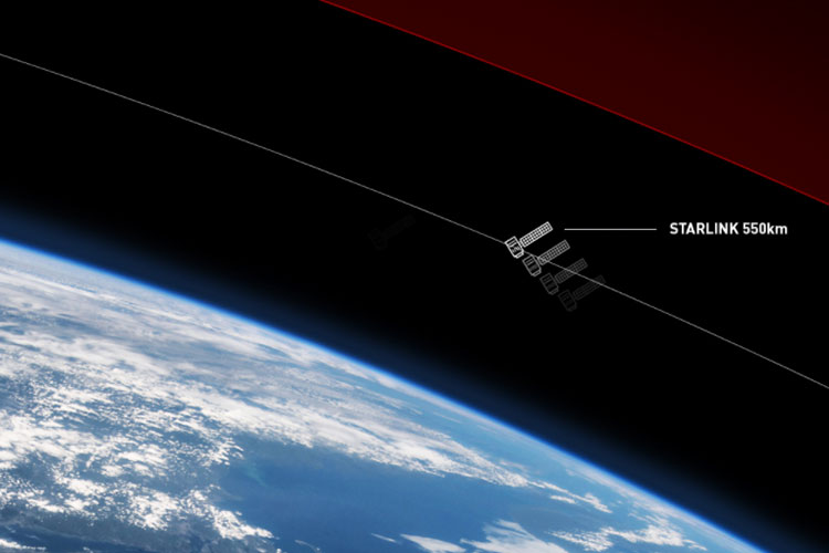 how to see starlink internet satellites