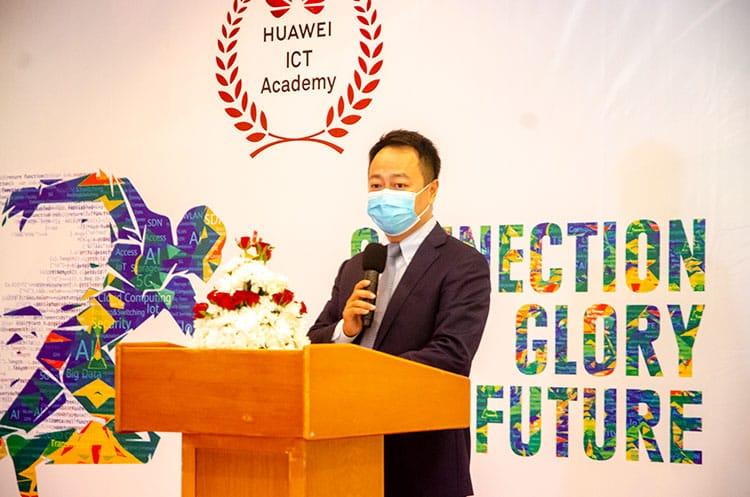 Huawei Uganda Managing Director Gao Fei