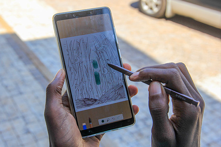 Infinix Note 8 to launch in uganda without a Stylus PEN