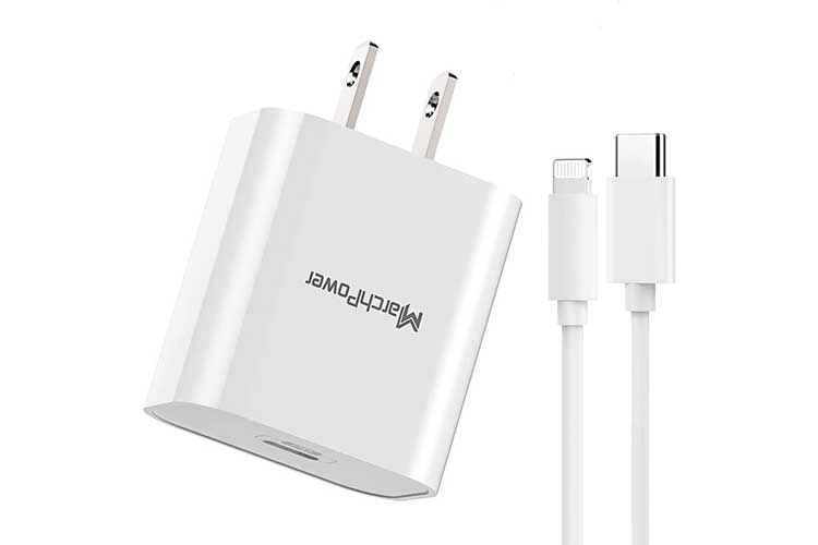 Marchpower USB C Fast Charger for iPhone 12 pro