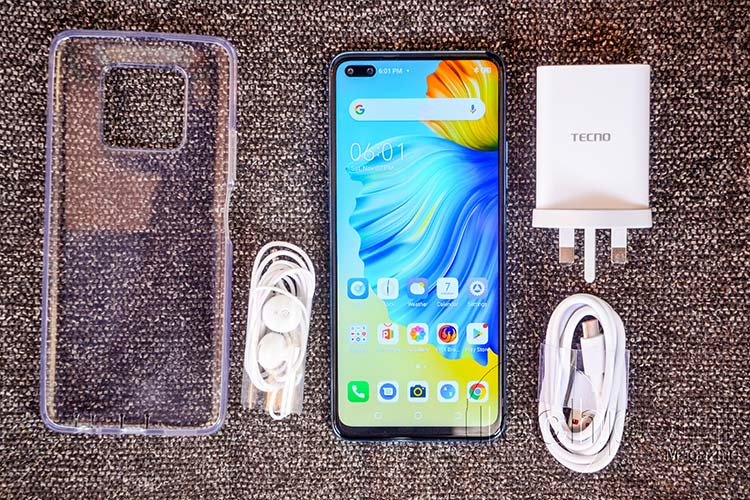 Unboxed TECNO Camon 16 Premier Specifications and Price in Uganda