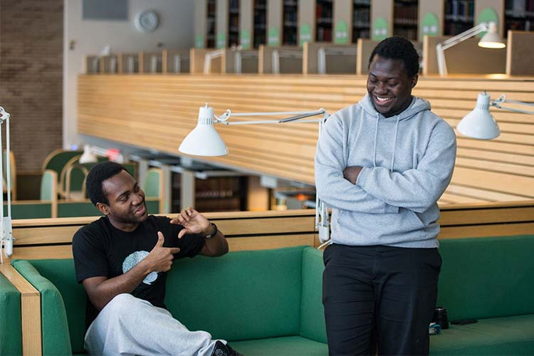 Chipper Cash Founder table: Ham Serunjogi and Maijid Moujaled