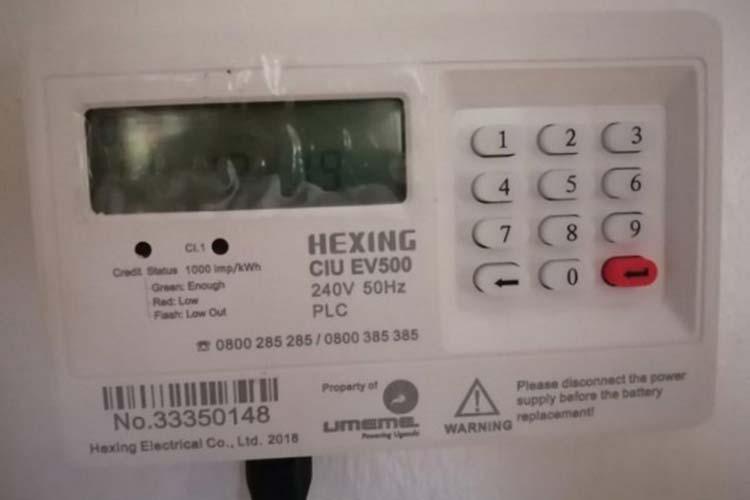 Hexing Yaka Meter Codes
