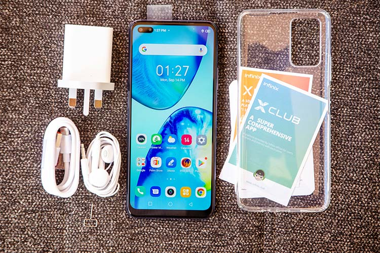 Unboxed Infinix Note 8 Specifications and Price in Uganda