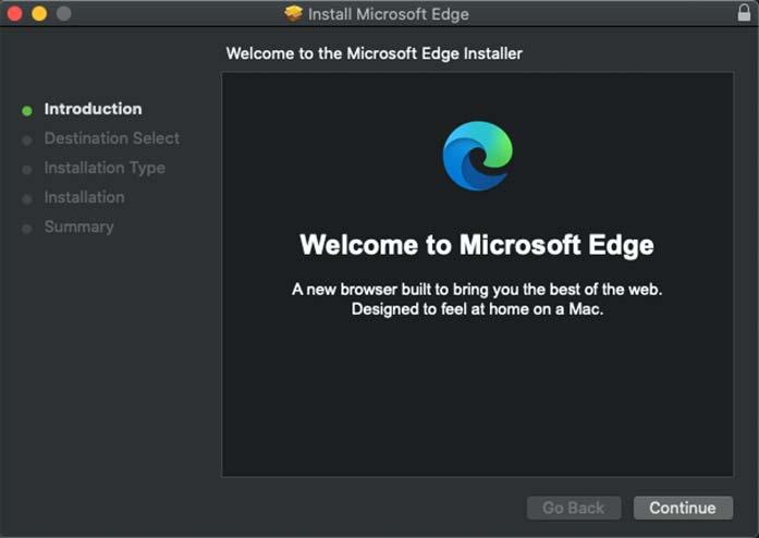 microsoft edge for mac installation guide