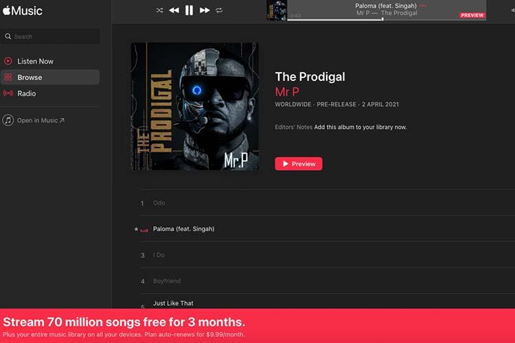 Spotify vs Apple Music streaming service