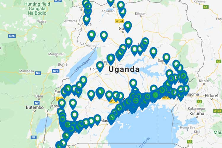 Lyca Mobile Uganda Coverage Areas