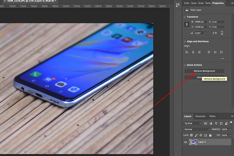 How to Remove Image Backgrounds in Photoshop