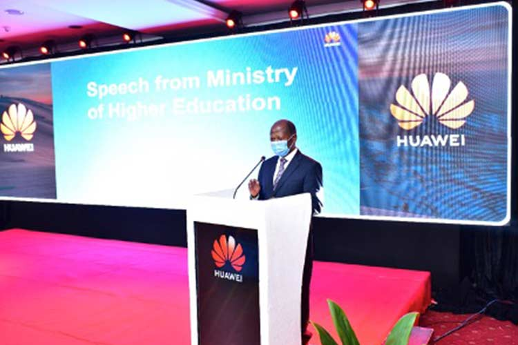 Minister JC Muyingo launched Huawei ICT Competition