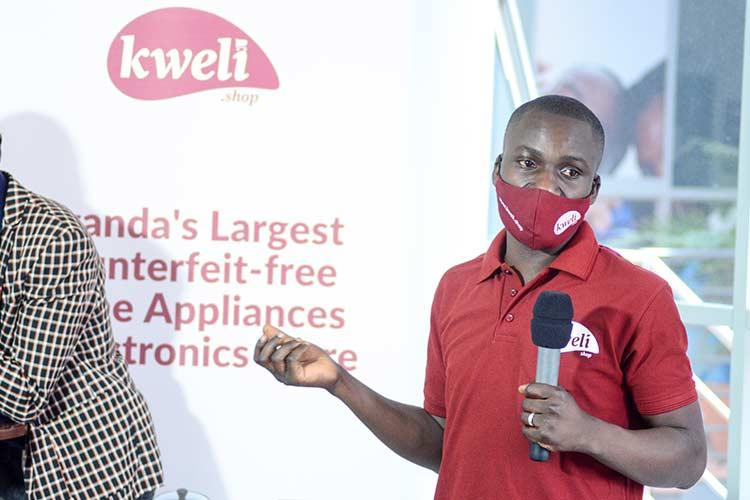 Stephen Someday the founder of Kweli Shop
